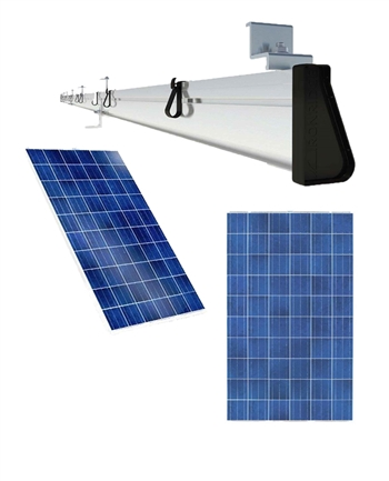 1 Panel Solar Mount Roof Bracket