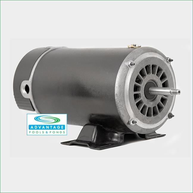Above ground pool spa motor 48 frame 2 speed 115 volt for Above ground pool motors