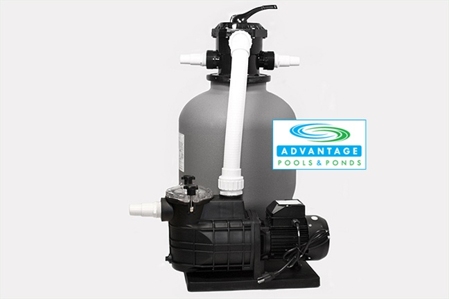 Sfp1 5 175 Sand Filter 1 5hp 175lb Tank
