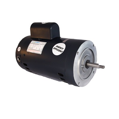 1.5 HP Single Speed Threaded Shaft Motor