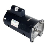 1 HP 56Y Single Speed Square Flange Motor