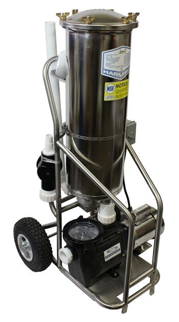 Stainless Steel Portable Vacuum Filter System