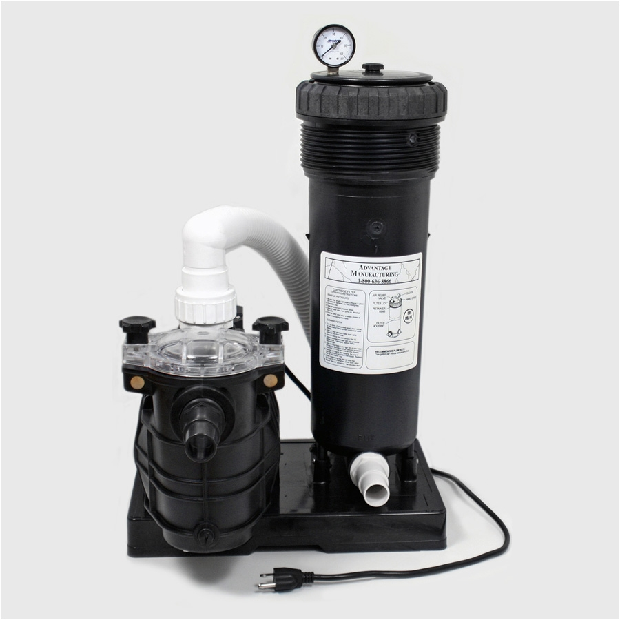 Above Ground Complete Pump Filter Pack W Element Available In 1 2hp 1 5hp 50sq Ft 150sq Ft