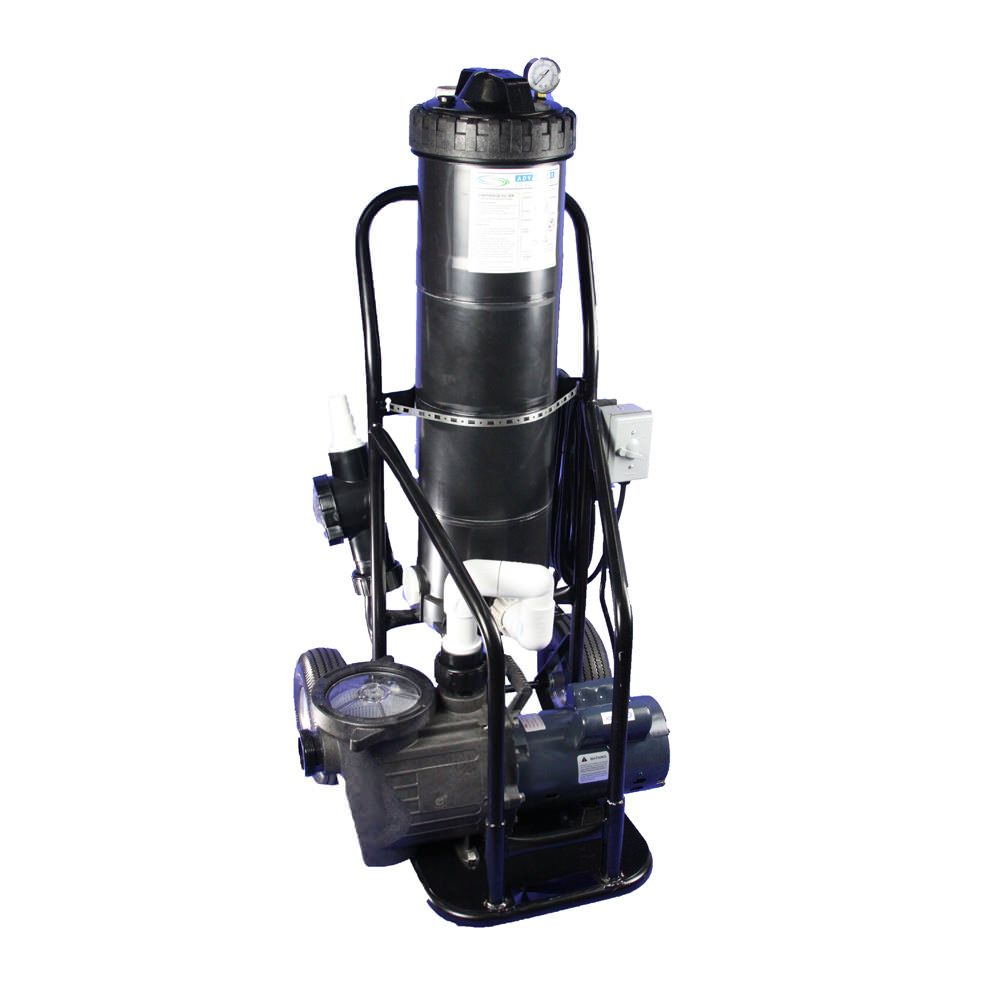 Portable Vacuum System With 1 5 Hp Ground Pool Pump