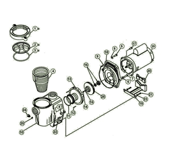 Energy Advantage Pump Parts
